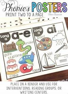 preschool worksheets 19340 phonics posters and cards bundle 10 spelling patterns 4 designs spelling patterns phonics