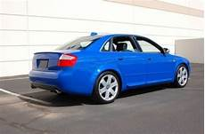 sell used 2004 audi s4 quattro nogaro blue w alcantara and a 6 speed manual transmission in
