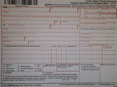 how to fill out a ps form 2976 a or customs declaration for shipping to an deployed or overseas