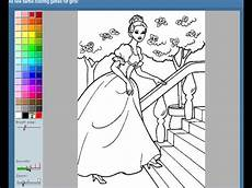barbie paint colors games barbie painting games barbie coloring pages youtube