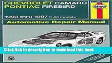 online car repair manuals free 1993 pontiac firebird engine control 1997 camaro repair manual
