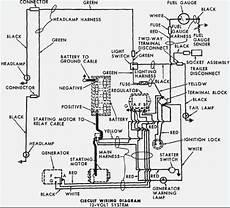 ford tractor 6610 alternator wiring diagram ford 5000 wiring diagram