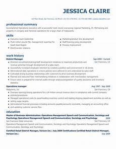 free resume builder online create a professional resume today