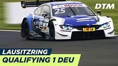 Dtm Lausitzring 2018 Qualifying Rennen 1 Re Live