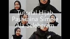 Tutorial Pashmina Simple Ala Selebgram