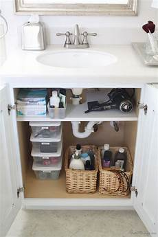 bathroom cabinet organizer creative sink storage ideas hative