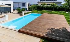 pool terrasse bauen pool mit schiebedach pool magazin