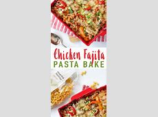 creamy chicken fajita pasta_image
