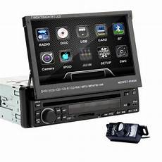 hq detachable 7 quot single din car dvd stereo cd player