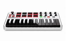 mpk mini 2 new akai mpk mini mk2 white professional midi keyboard controller with tracking 694318015599 ebay