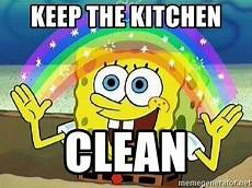 Clean Kitchen Memes by Keep The Kitchen Clean Imagination Meme Generator