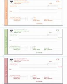 8 free payment receipt templates word excel