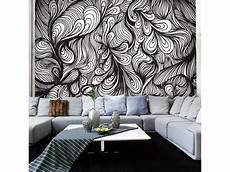 Papier Peint Noir Et Blanc Style R 233 Tro Declina