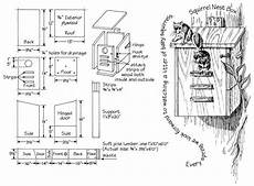 southern flying squirrel house plans