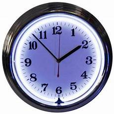 wall clock with light ebay
