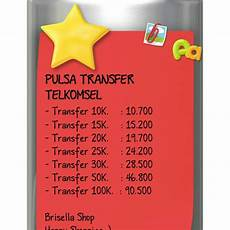pulsa transfer telkomsel 50rb 100rb shopee indonesia