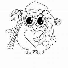 Ausmalbilder Eule Weihnachten Print Coloring Pages For Adults Owl Out Free To Sheets Of