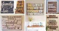 Home Decor Quotes Ideas by Rustic Wood Sign Ideas Inspirational Quotes Featured