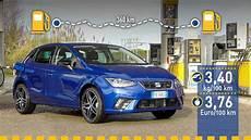 Tats 228 Chlicher Verbrauch Seat Ibiza 1 0 Tgi Im Test