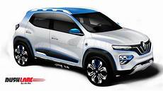 renault electric 2019 renault kwid electric car showcased as suv inspired
