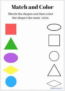 matching colors worksheet for kindergarten 12921 worksheet match and color shape worksheets for preschool color worksheets for preschool