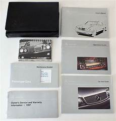 car service manuals pdf 1997 mercedes benz c class navigation system 1997 mercedes benz e300 diesel e320 e420 owners manual package in leather case ebay cards
