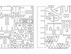 castillo 3d puzzle dxf file free download 3axis co
