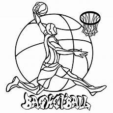 printable coloring pages sports balls 17740 basketball coloriage sports coloriages pour enfants