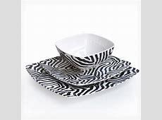 Waverly 12 Piece Melamine Dinnerware Sets