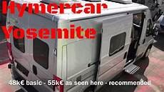 hymercar yosemite hymer rv review wohnmobil test 2018