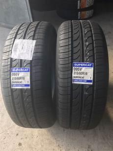 215 60 r16 95v supercat best new tyre