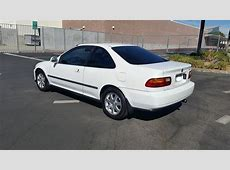 CA 1995 Honda Civic Ex White All Original Clean Title