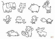 coloring pages of baby animals and 17527 coloriage b 233 b 233 s animaux 3 coloriages 224 imprimer gratuits