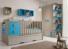 deco chambre bebe garcon gris et bleu