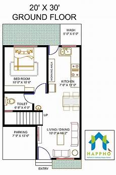 20x30 house plans floor plan for 20 x 30 feet plot my house plans house