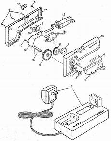 Can Opener Diagram by Black Decker Cordless Can Opener Parts Model Kec160