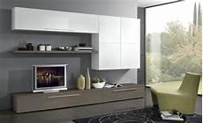 pareti soggiorno moderno parete soggiorno larice grigio e bianco conforama