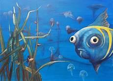 Unterwasser Tiere Malvorlagen Englisch Ein Glotzerfisch Fische Unterwasser Glotzerfisch