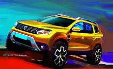 2018 dacia duster revealed with evolutionary design and