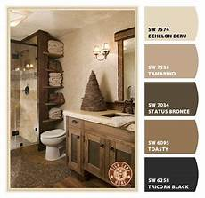 paint colors from chip it by sherwin williams color palette rustic bathroom decor rustic