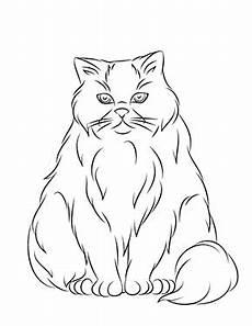 Ausmalbilder Siamkatze Ausmalbild Vertr 228 Umte Katze Zum Ausdrucken