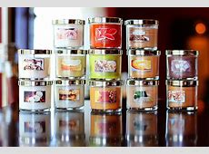 bath and body 8.95 candles
