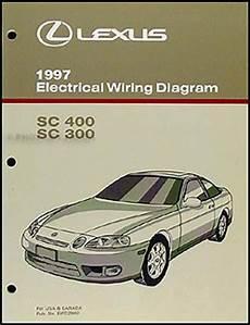 service and repair manuals 1997 lexus sc head up display 1997 lexus sc 300 and sc 400 repair shop manual original 2 volume set