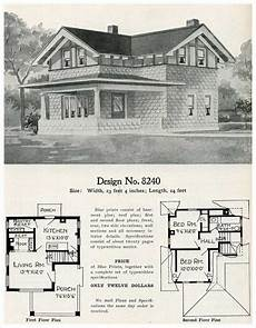 half timbered house plans 1909 eclectic cement house plan radford model 8240