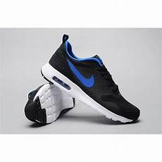 nike air max tavas mens running shoes black blue factory