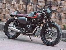 W175 Modif by Inspirasi Modifikasi Ragam Ubahan Custom Kawasaki W175