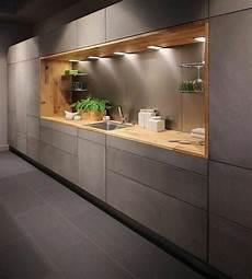 küche beton optik k 252 che betonoptik mit holz ist eine sch 246 ne kombination