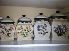 Kitchen Canisters Unique by Decorative Kitchen Canisters Ebay