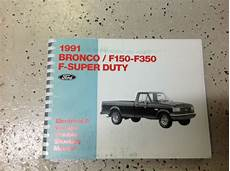 service manuals schematics 1991 ford f series security system 1991 ford f150 f 250 f 350 f250 f350 bronco wiring diagrams shop manual ewd x ebay