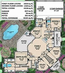 mediterranean mansion house plan 36427tx architectural